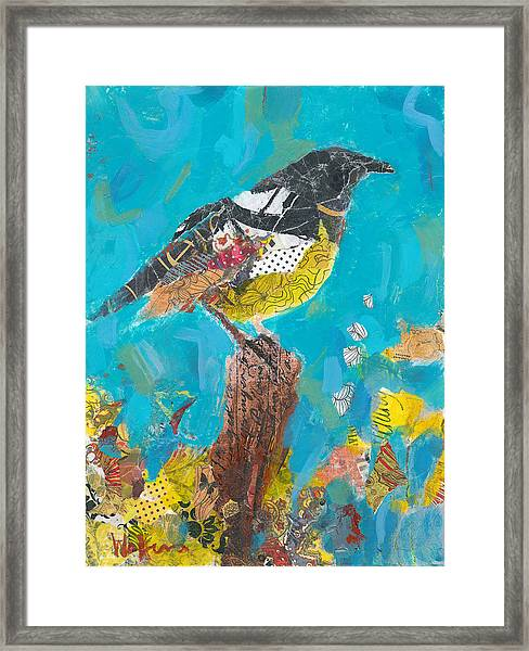Framed Print featuring the painting Spring Gala by Shelli Walters