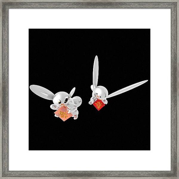 Spring Has Come Happiness Has Come 05 Framed Print by Taketo Takahashi