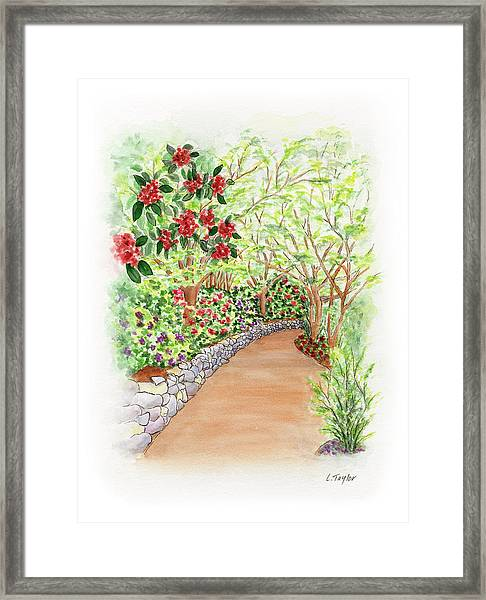 Spring Rhodies Framed Print