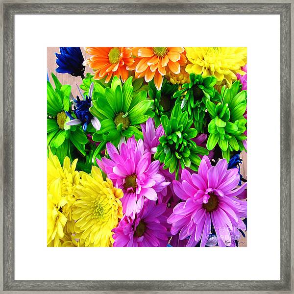 Framed Print featuring the painting Spring Still Life Floral 721 by Mas Art Studio
