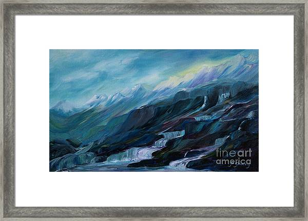 Spring Water Framed Print
