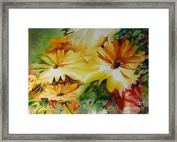 Springs Of Joy Framed Print
