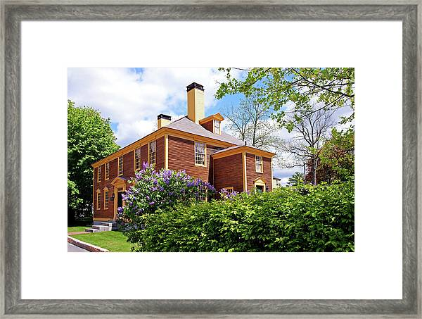 Springtime At Folsom Tavern Framed Print
