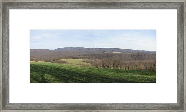 springtime at Kentuck Knob Framed Print