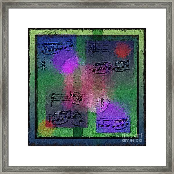 Squarely In Frame - Boxed Bars Framed Print