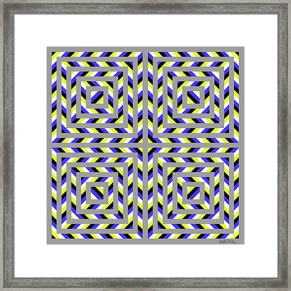 Squaroo Framed Print