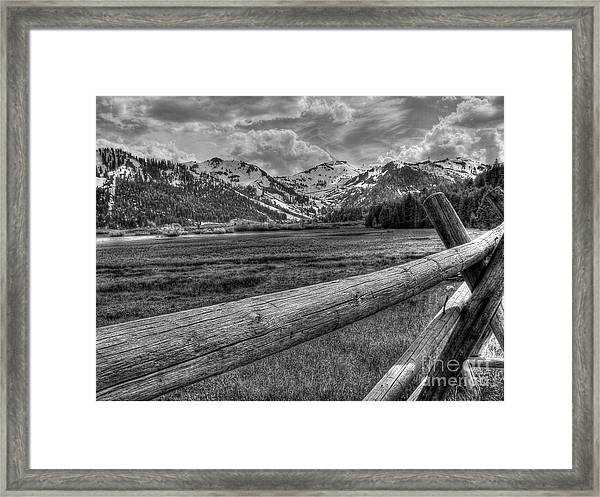 Squaw Valley Usa Olympic Valley California Framed Print by Scott McGuire