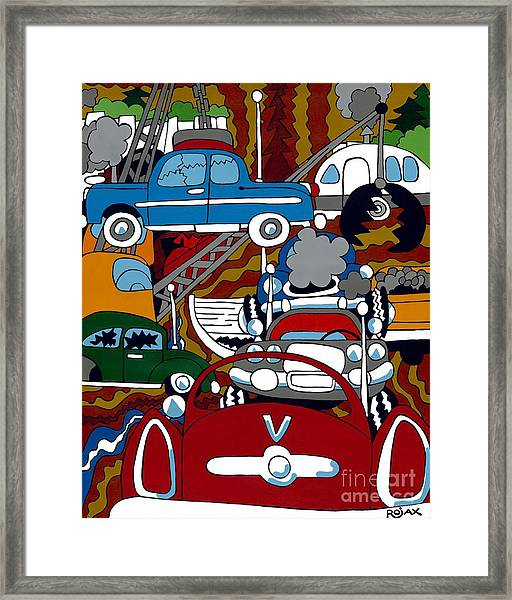 Ss Studebaker Framed Print