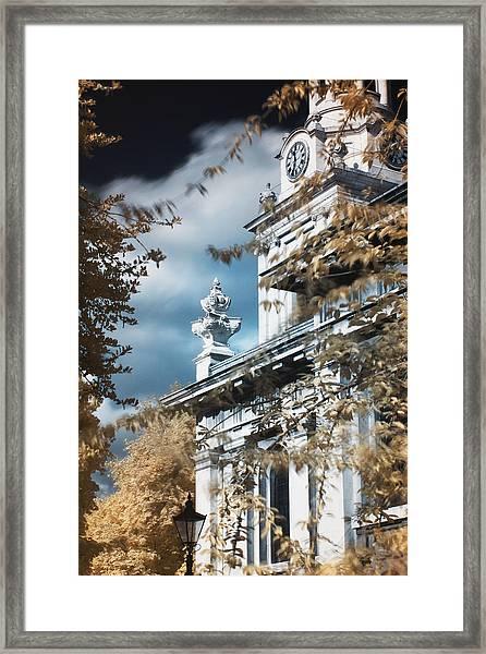 St Alfege Parish Church In Greenwich, London Framed Print