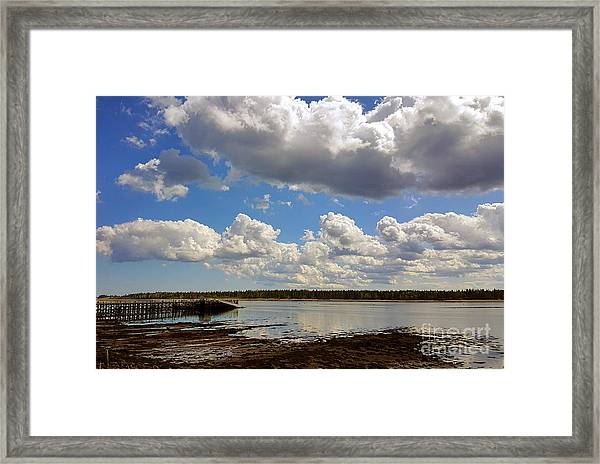 St. Andrews At Low Tide Framed Print