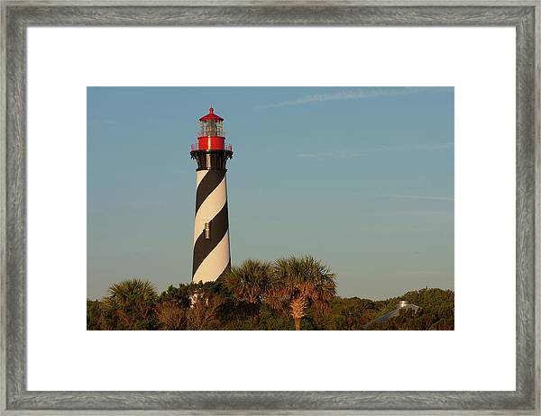 St. Augustine Lighthouse #3 Framed Print