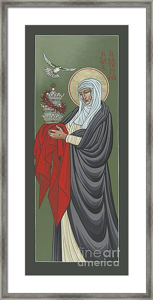 St Catherine Of Siena- Guardian Of The Papacy 288 Framed Print