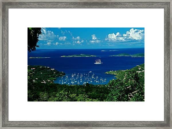 St. John Morning Framed Print