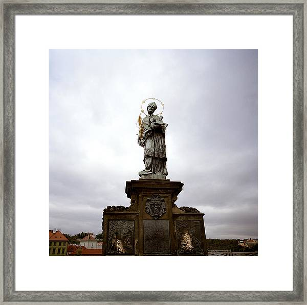 Saint John Of Nepomuk Framed Print