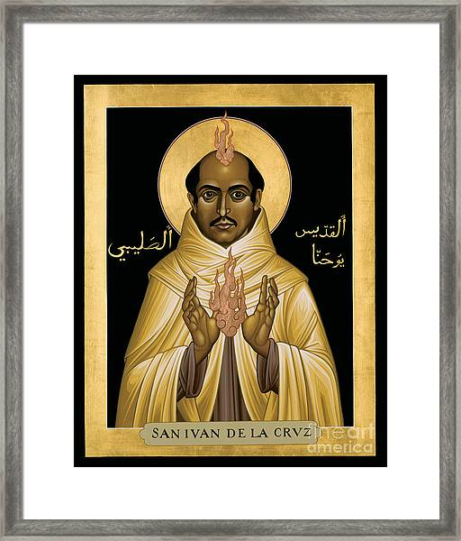 St. John Of The Cross - Rljdc Framed Print