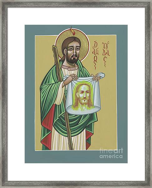 St Jude Patron Of The Impossible 287 Framed Print