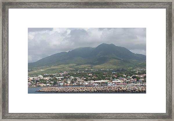 St. Kitts Color Framed Print