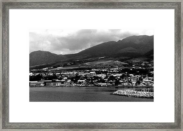 St. Kitts Beautiful Caribbean Island  Framed Print