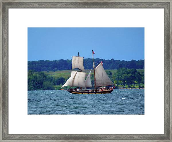St. Lawrence II  Framed Print
