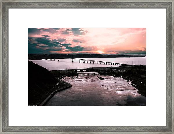 St. Lawrence Sunset Framed Print