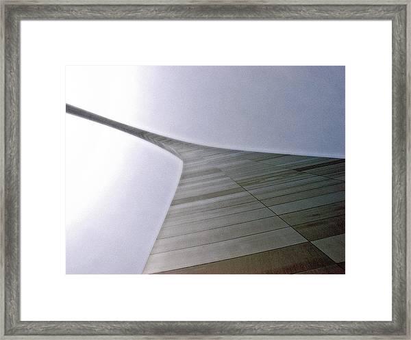 St Louis Arch Framed Print