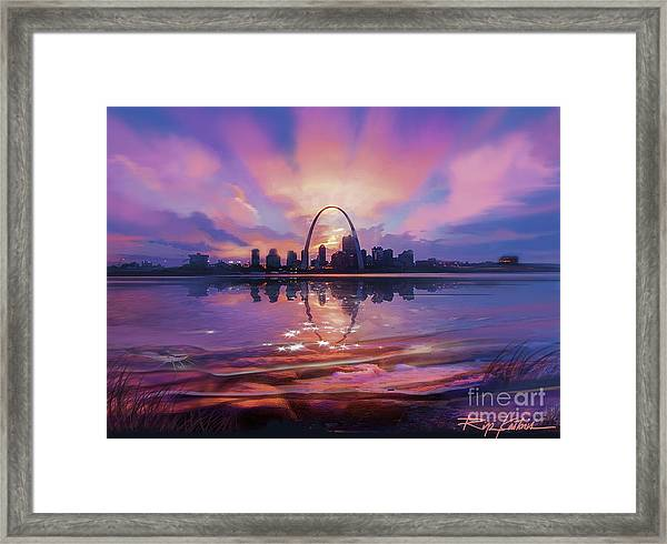 St. Louis - Blues And A Whole Lot More Framed Print