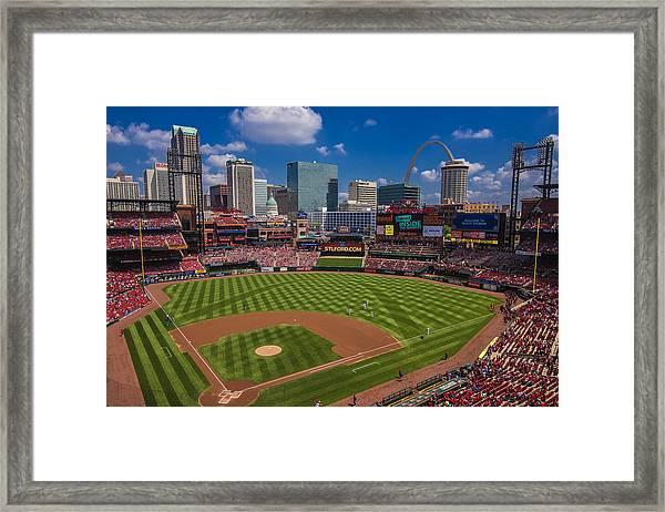 St. Louis Cardinals Busch Stadium Creative 16 Framed Print
