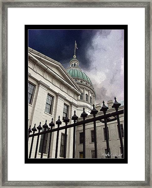St Louis Courthouse Framed Print