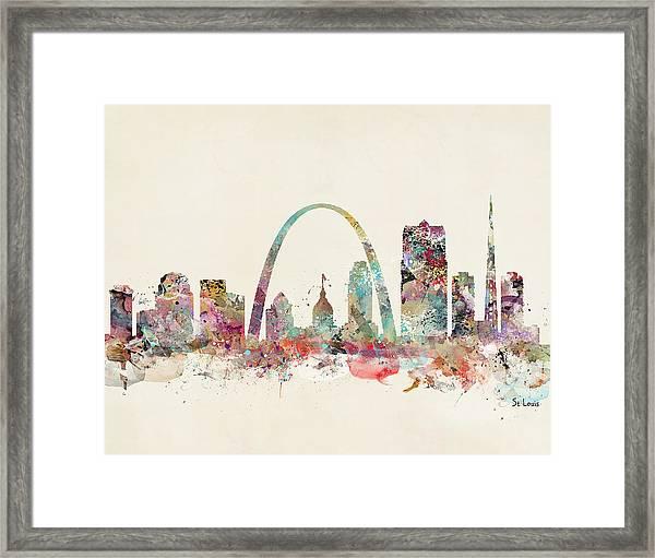 St Louis Missouri Framed Print
