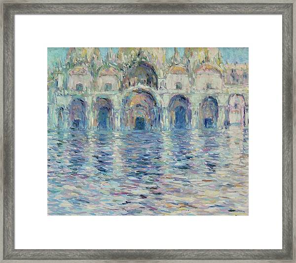 st-Marco square- Venice Framed Print