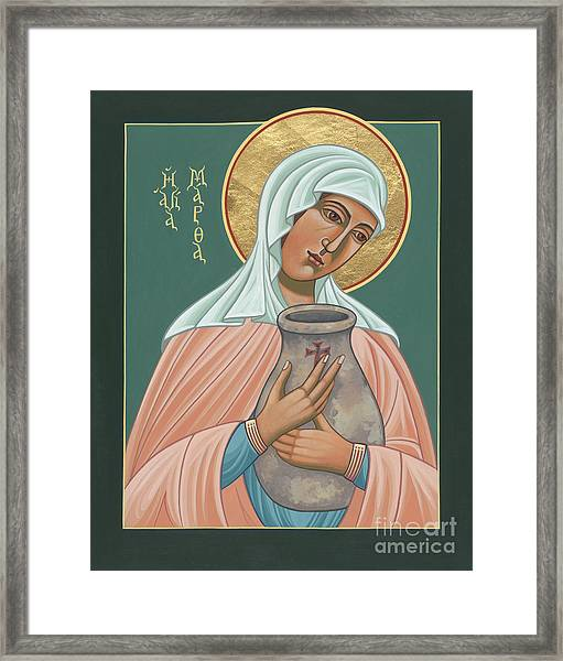 St Martha Of Bethany  Framed Print