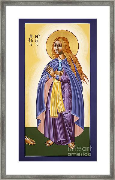 St Mary Magdalen Equal To The Apostles 116 Framed Print