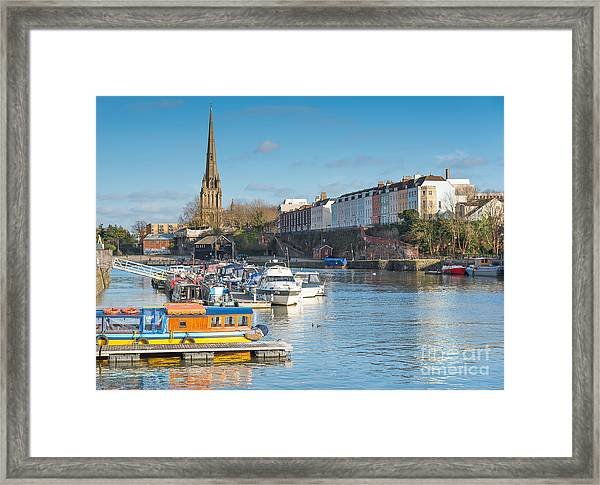 St Mary Redcliffe Church, Bristol Framed Print