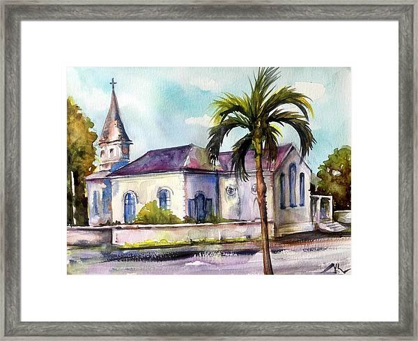 St. Matthews Church, Nassau Framed Print