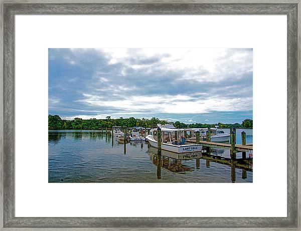 St Michaels Maryland Framed Print