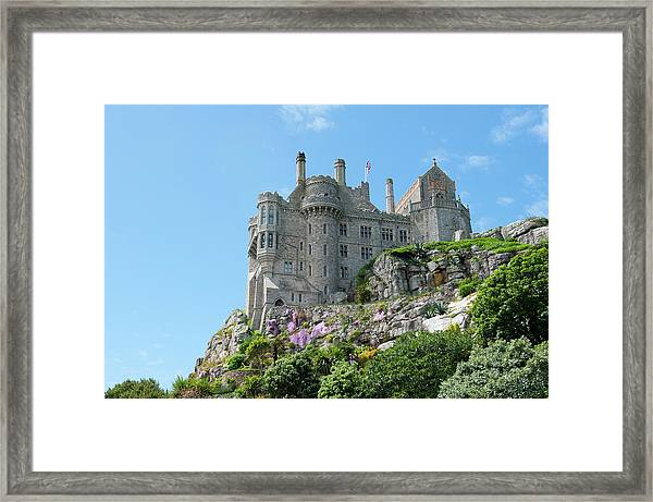 St Michael's Mount Castle Framed Print