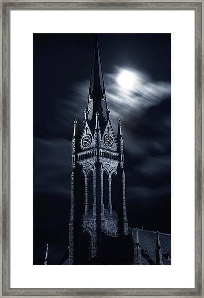 St Nicholas Church Wilkes Barre Pennsylvania Framed Print