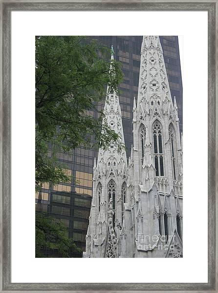 St Patricks Cathedral Framed Print
