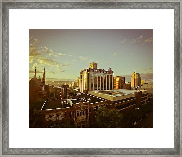 St. Paul Sunrise Framed Print