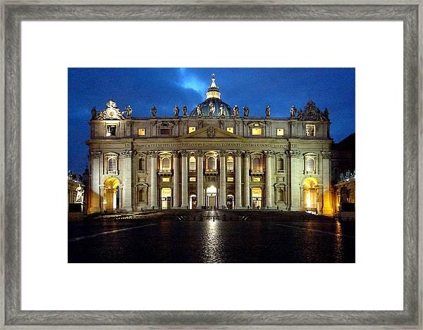 St Peter's Framed Print