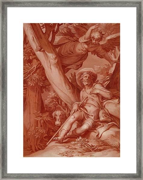 St. Roch Framed Print