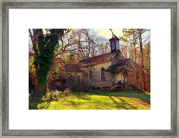 St Simon Church Peak Sc Framed Print