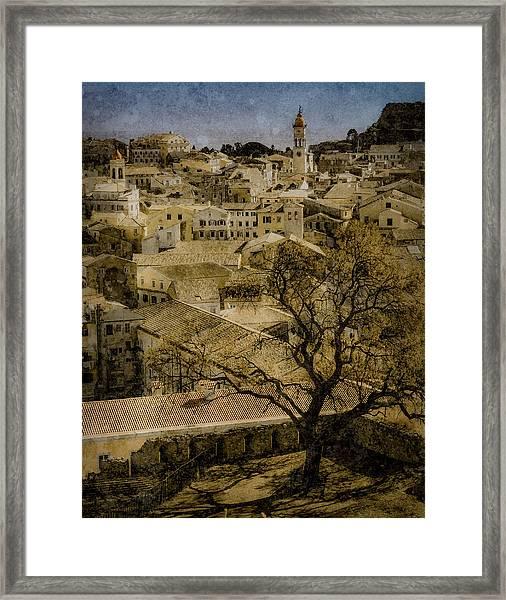 Framed Print featuring the photograph Corfu, Greece - St. Spyridon by Mark Forte