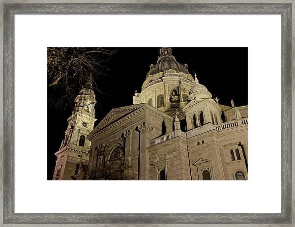 St. Stephen's Basilica 1 Framed Print