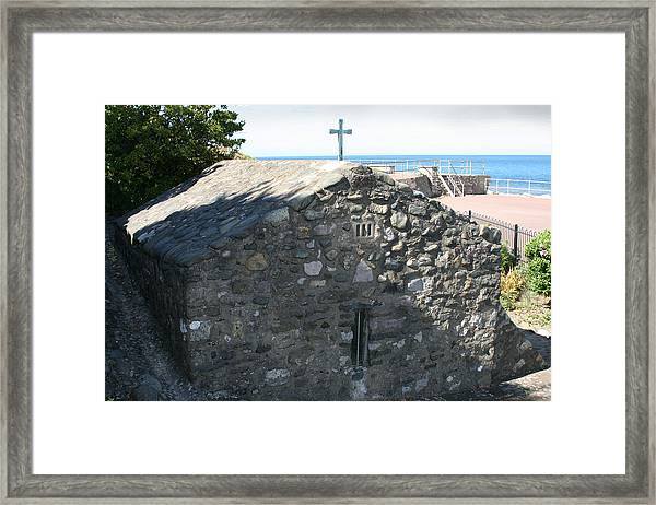 St Trillo's Chapel - North Wales - Exterior Framed Print