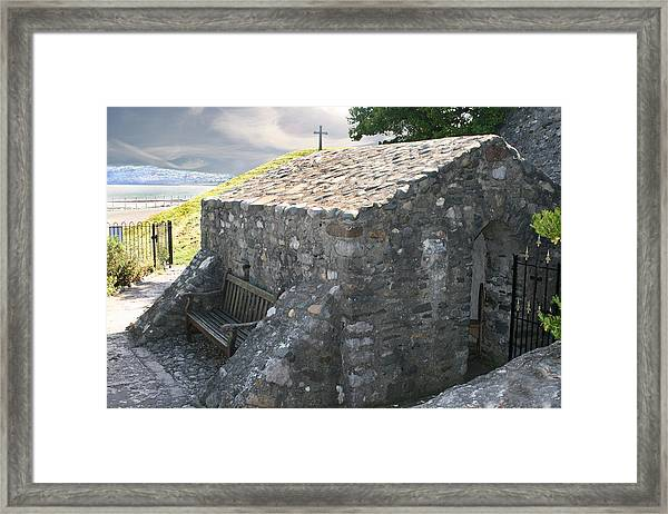 St. Trillo's Chapel - North Wales - Uk ....... Framed Print