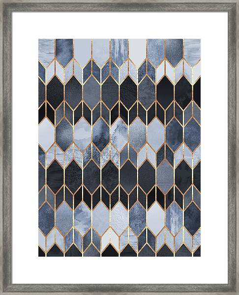 Stained Glass 4 Framed Print