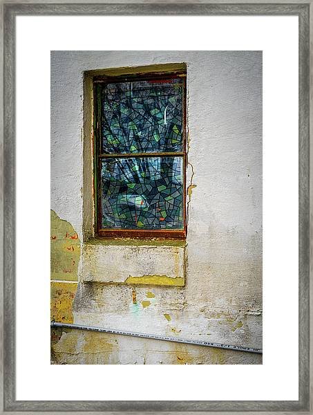 Framed Print featuring the photograph Stained Glass by Samuel M Purvis III