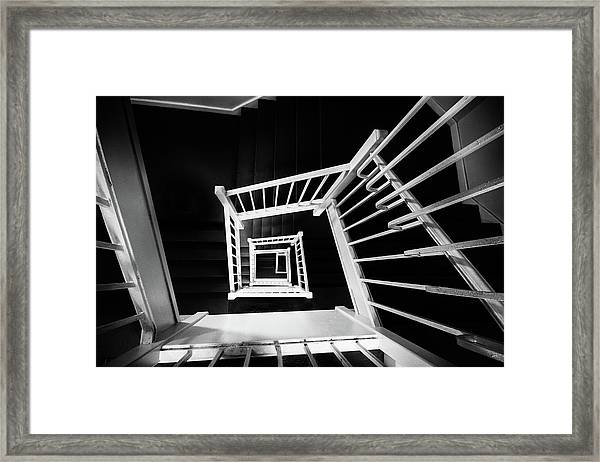 Staircase II Framed Print