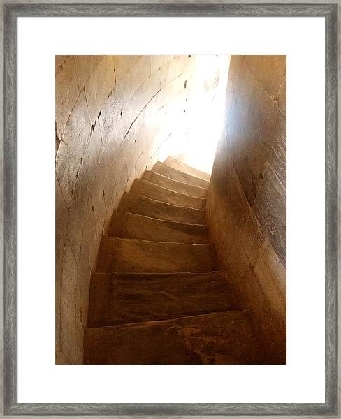Stairway From Heaven Framed Print